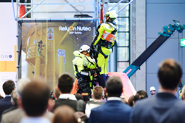Safety, Skills, Training Zone by GWO at WindEurope Electric City 2021