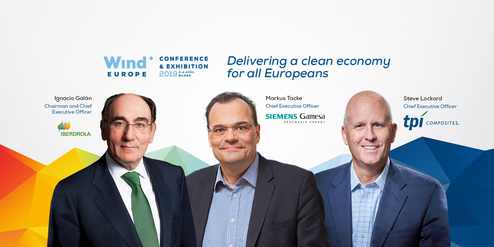 WindEurope 2019 conference and exhibition event ambassadors in Bilbao