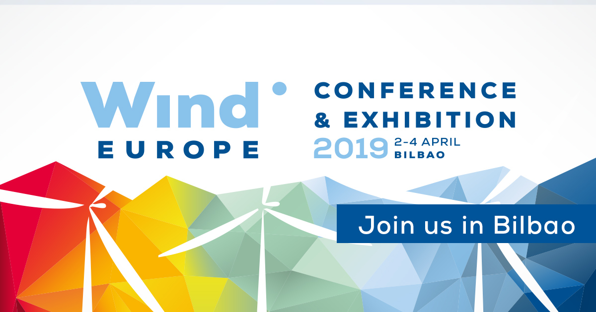 WindEurope Conference & Exhibition 2019 in Bilbao | 2-4 April