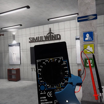 Training future wind energy maintenance professionals – SIMULWIND virtual reality simulator