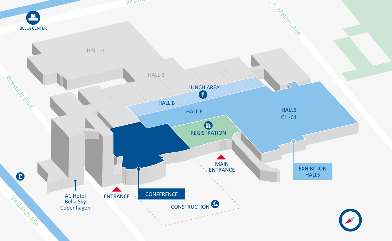 WindEurope Offshore 2019 venue overview