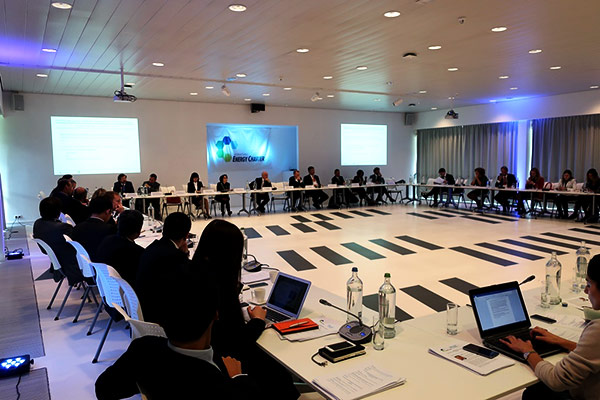 international energy charter meeting room